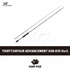 Спиннинг Thirty34Four Advancement HSR-610 Version2
