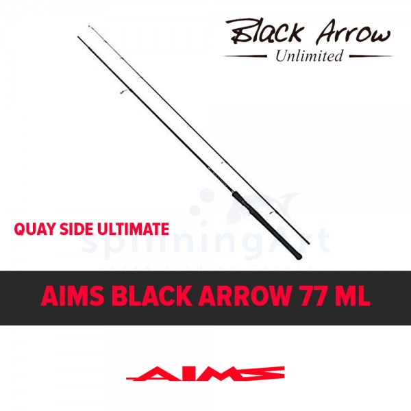 Спиннинг Aims Black Arrow 77ML Quay Side Ultimate
