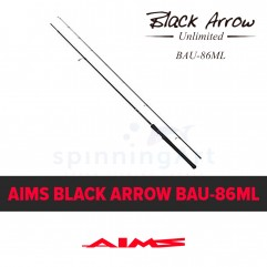 Спиннинг Aims Black Arrow Unlimited 86ML