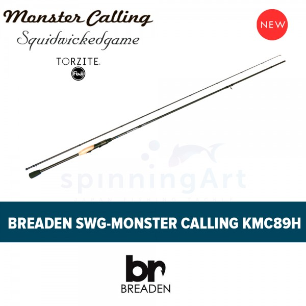Спиннинг Breaden SWG Monster Calling KMC89H
