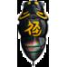 Воблер D-3 Custom Chibi Fukusemi Shallow 30mm #01