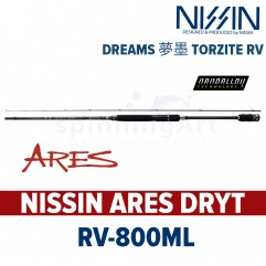 Спиннинг Nissin Ares DRYT-RV800ML