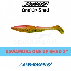 Приманка Sawamura Up One Shad 3""