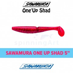 Приманка Sawamura Up One Shad 5""