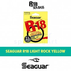 Флюорокарбон Seaguar R18 Light Rock Yellow