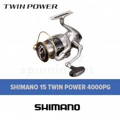 Катушка Shimano 15 Twin Power 4000PG
