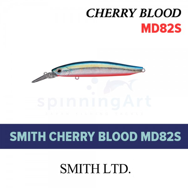Воблер Smith Cherry Blood MD82S #08