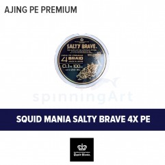 Шнур Squid Mania Salty Brave x4 PE