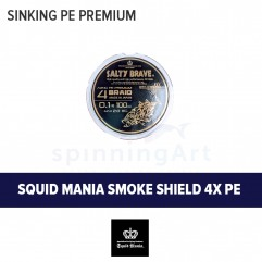 Шнур Squid Mania Smoke Shield x4 PE
