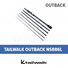 Спиннинг Tailwalk Outback NS886L