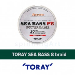 Шнур Toray Sea Bass 8 braid PE