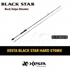 Спиннинг Xesta Black Star Hard S76MX Rock Snap Shooter