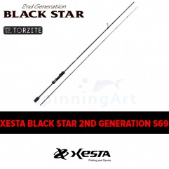 Спиннинг Xesta Black Star 2nd Generation S69 Technical Friction