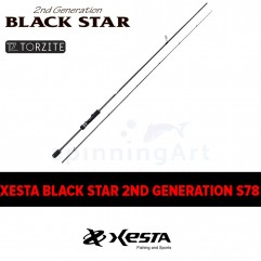 Спиннинг Xesta Black Star 2nd Generation S78 Multi Performer