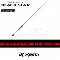 Спиннинг Xesta Black Star 2nd Generation S83 Distancescape