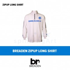 Футболка Breaden Zipup Long Shirt